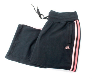 Pants Negro Con Rosa adidas