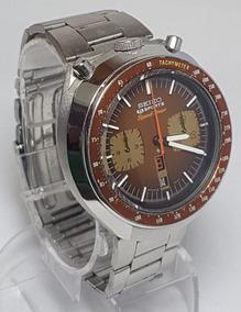 Relógio Seiko Bullhead Anos 70 Raro Marrom E Dourado Lindo