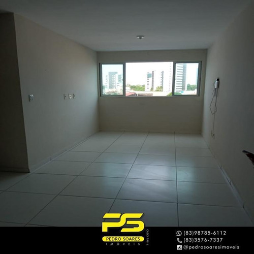 (alugo)  Apartamento Com 2 Dormitórios Para Alugar, 58 M² Por R$ 1.100/mês - Torre - João Pessoa/pb - Ap4392