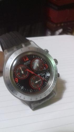 Relogio Antigo Cronógrafo Swatch Irony Ag2001  Coleção