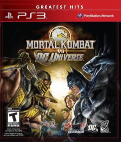 Jogo Mortal Kombat Vs Dc Universe (novo) Ps3