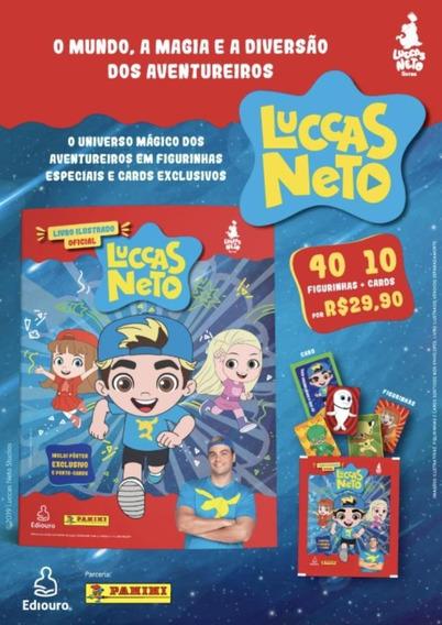 Kit De Figurinhas Luccas Neto - 40 Figurinhas + 10 Cards