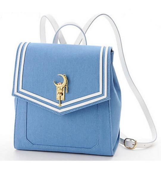 Bolsa Hirudolph Cosplay Sailor Moon Azul