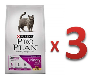 Proplan Gato Urinary 3 Kg Paquete De 3 Bultos