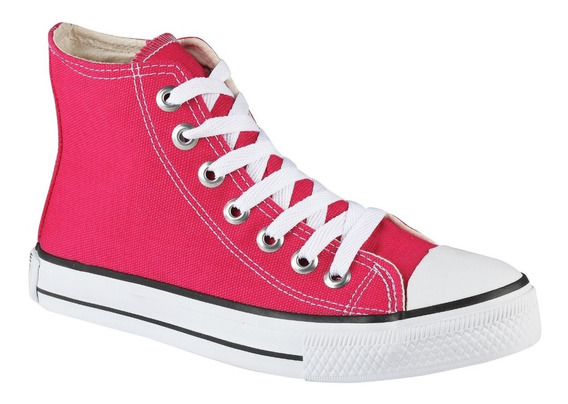Tênis Converse All Star Cano Alto Rosa Shock Pink