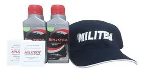 2 Militec-1 Cond. Metal - 200 Ml + Boné - Dist. Autorizado