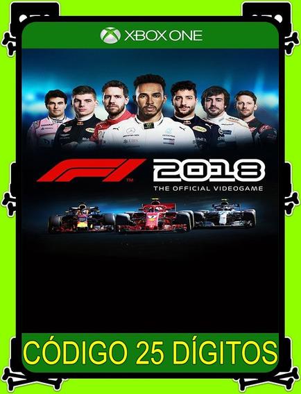 F1 2018 Xbox One - 100% Original (25 Dígitos)