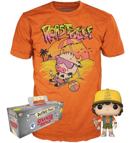 Funko Box Stranger Things Exclusive - Dustin + Camiseta