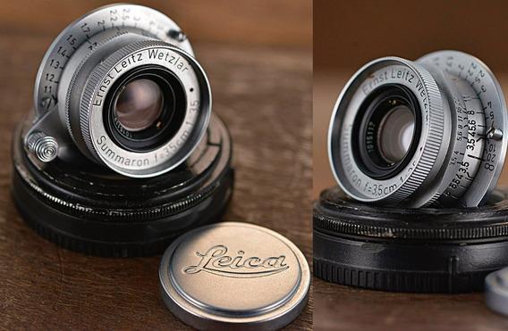 Lente Leica 35mm 3.5 Summaron P/ Sony E Mount Full Frame