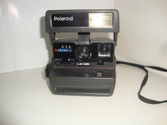Máquina Fotográfica Antiga Polaroide 636 Close Up