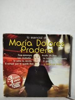 Cds 3+ Dvd María Dolores Pradera . Usado En Estado De Nuevos