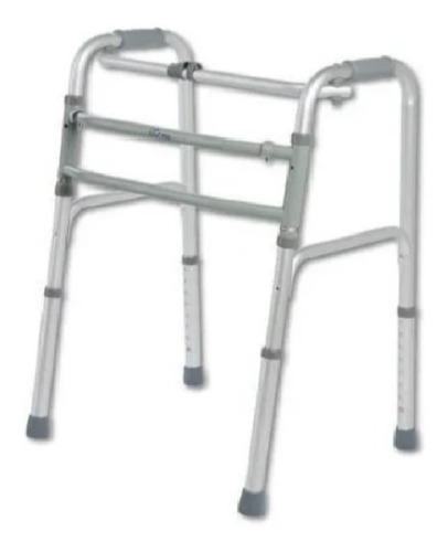 Imagen 1 de 5 de Andador Ortopédico - Doble Funcion-plegable-aluminio