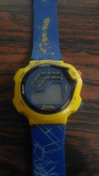 Relógio Senninha