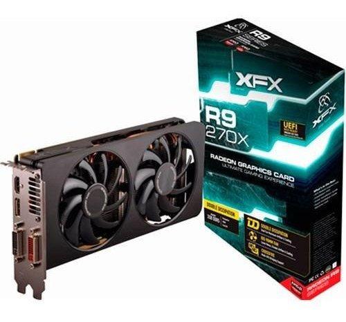R9 270x Radeon Xfx 2gb Gddr5 256 Bits - Gamer - Zerada