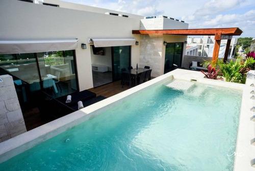 Imagen 1 de 8 de Penthouse En Renta En Tulum, La Veleta