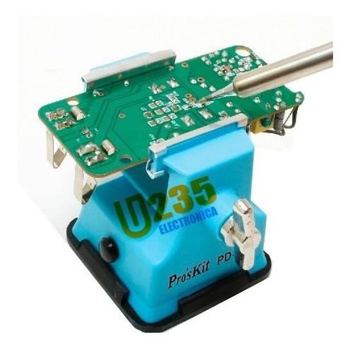 Imagen 1 de 6 de Morsa Mini Proskit Uso Electronica Manualidades Hobbista Ideal Para Soldar Modelo Pd-372 Fijación Por Ventosa