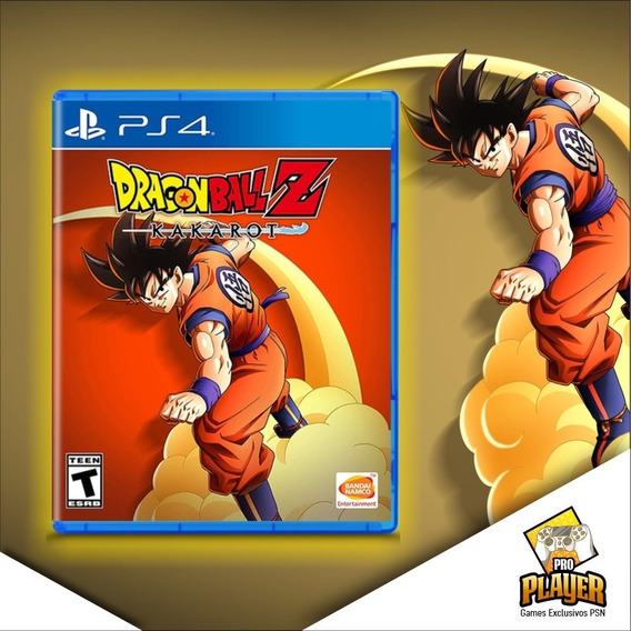Dragon Ball Z Kakarot Ps4 Psn - Leia A Descrição Do Produto