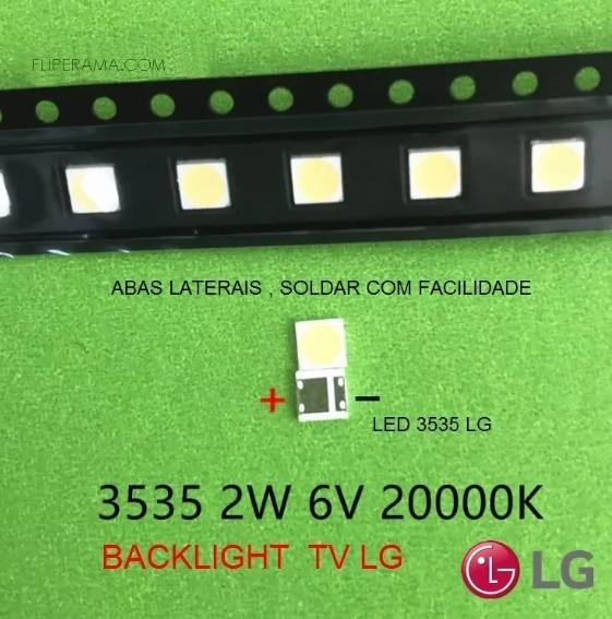Led Smd 3535 6v 2w Tv Lg 32lb580b _20 Unidades