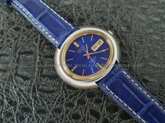 Relógio Masculino Seiko Vintage Automático Hi-beat