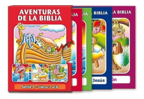 8 Libritos Cristianos Para Niños Aventuras De La Biblia 1