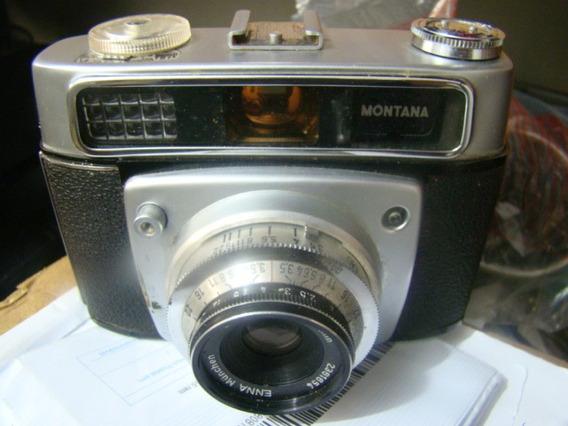 Camera Fotográfica Montana Vario. Antiguidade Ver Descrição