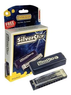 Armonica Hohner Silver Star C + Metodo On Line