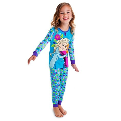 Pijama Anna And Elsa Frozen Disney Store