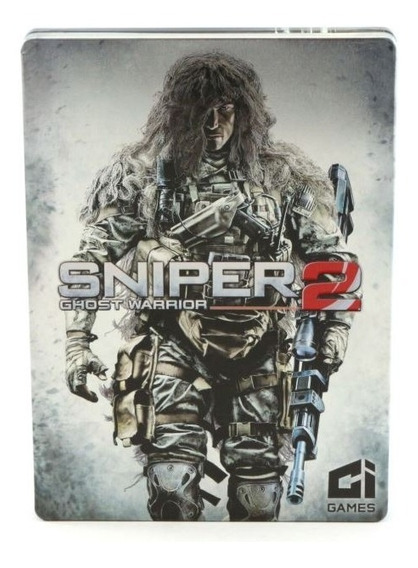 Sniper Ghost Warrior 2 Xbox 360 Steelbox Mídia Física Usado
