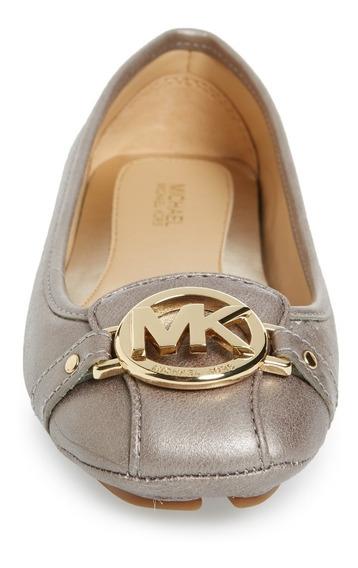 Zapato Michael Kors Mk Logo Fulton Gloria Moc Flats Original