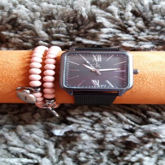 Relógio De Pulso Feminino Lindo + Brinde