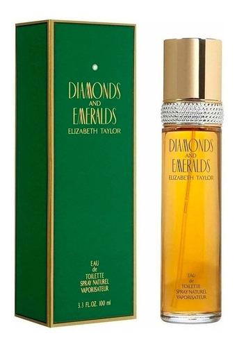 Perfume Diamantes Y Esmeraldas Elizabe - Ml A $1149