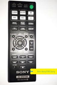 Controle Remoto Sony As System Áudio Rm-amu199 Original