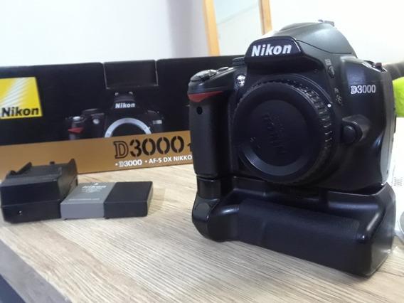 Camara Nikon D3000 Con Accesorios