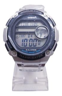 Reloj Casio Digital Ae-3000wd Sumergible 100m Agente Oficial