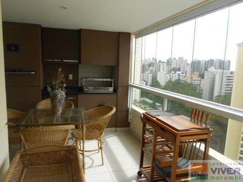Imagem 1 de 15 de Rua Nobre Com Terraço Gourmet - Nm4308