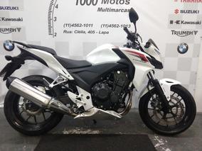 Honda Cb 500 F Abs 2014 Otimo Estado Aceito Moto