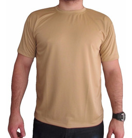 Kit 06 Camisetas Básica Dry Fit Malha Fria Sem Estampas