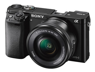 Sony Ilce-6000l Cámara Alpha Mirrorless Con Montura E Aps-c