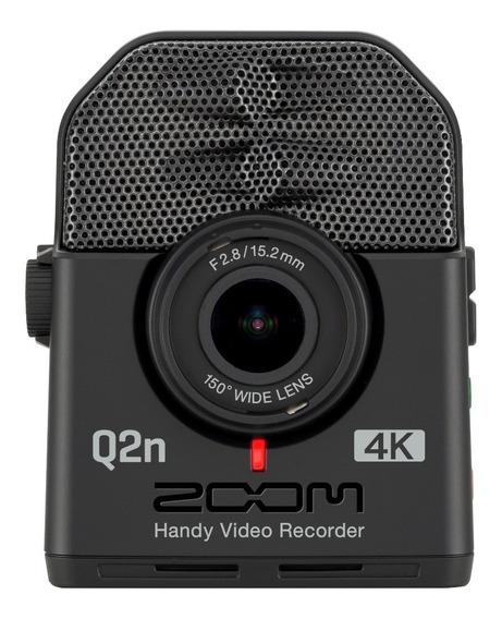 Zoom Q2n 4k - Câmera De Vídeo Para Músicos