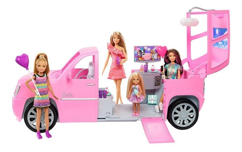 Limosina 61cm Hermanas Barbie Mattel Ggf58 Oferta Envio Ya