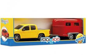 Conjunto Força E Ação Camionete Rodeio Poliplac