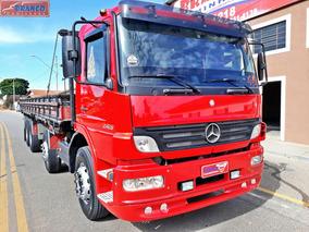 Caminhão Mb Atego 2425 4 Eixo, Ano 2007/08, Único Dono,fino!