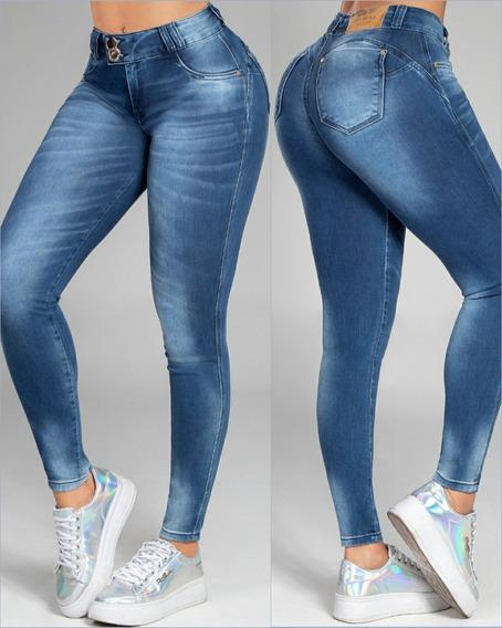 Calça Cigarrete Pit Bull Jeans, Empina Bumbum 35880 + Brinde