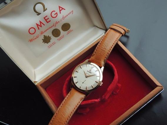 Relogio Omega Geneve Ouro Maciço Mint Piepan Antigo Cal 267