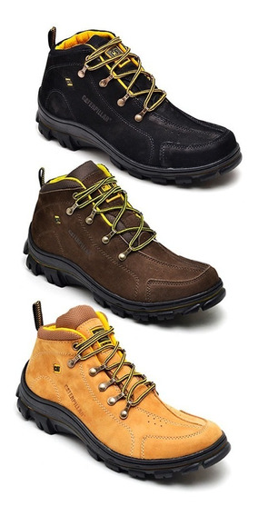 Bota Caterpillar Kit 3 Pares Adventure Frete Gratis
