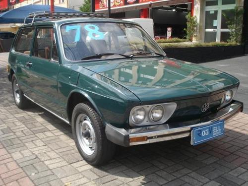 Volkswagen Brasilia 1.3 Gasolina