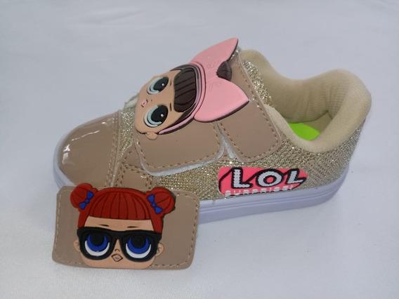 Tênis Lol Suprise Infantil Feminino Moda Lançamento Sem Led