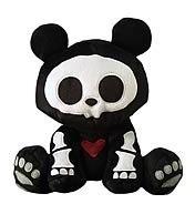 Skelanimals Pelúcia Chungkee O Panda Da Toynami *na Caixa*