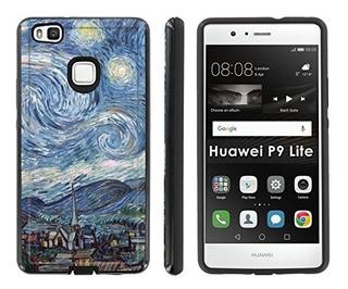 Funda Estuche Carcasa Para Huawei P9 Lite Negro / Negro