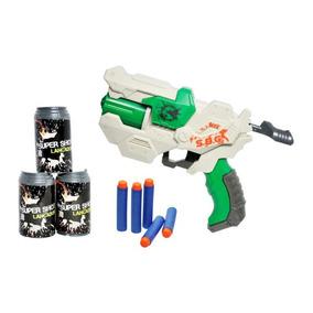 Lançador Pistola De Dardos Super Shot Supreme Stilo Nerf